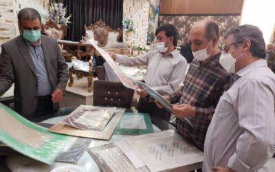گزارش تصویری داوری دوسالانه ملی خوشنویسی ایران